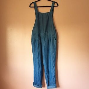 Nasty Gal Jeans - Nasty Gal Chambray Overalls